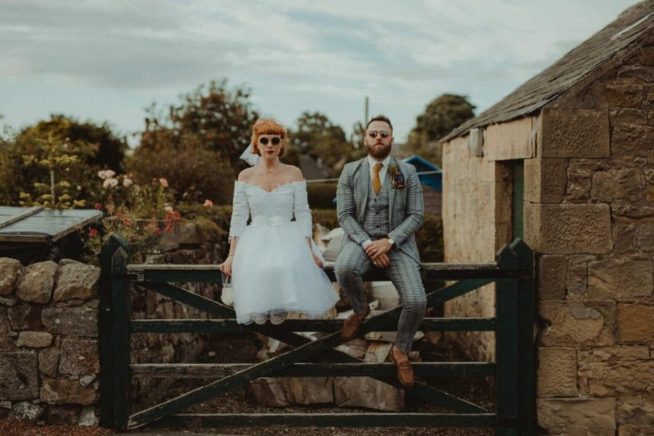 Katie and Sam in Alnwick, by Belle Art Photography. An Emotive Wedding Photographer based in the North East