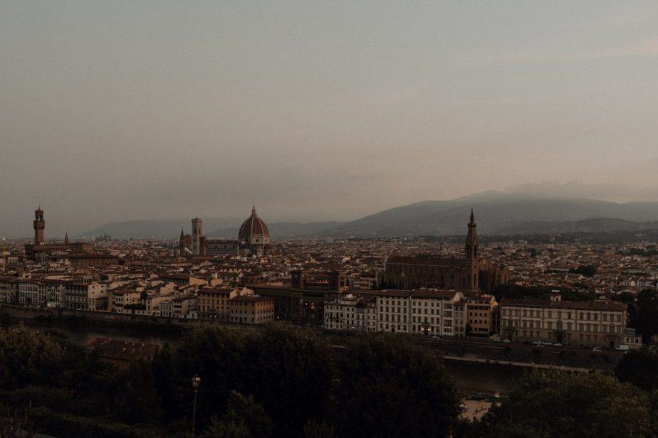 Florence at Sunrise by Belle Art Photography