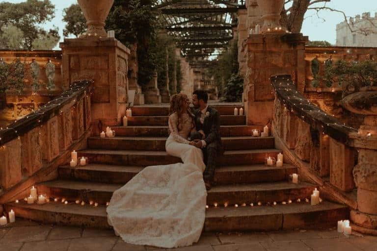 Destination Wedding at Villa Bologna in Malta
