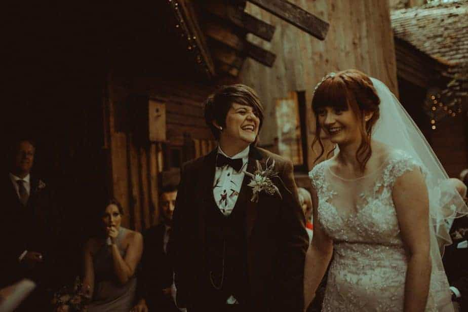 Emma & Stacey's Wedding at The Treehouse by Belle Art Photography. Alnwick Treehouse Wedding Photographer