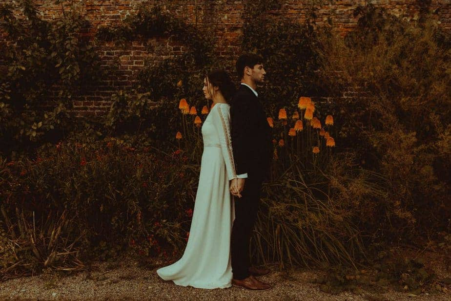 A wedding at Helmsley Walled Garden by Belle Art Photography. A North East Wedding Photographer