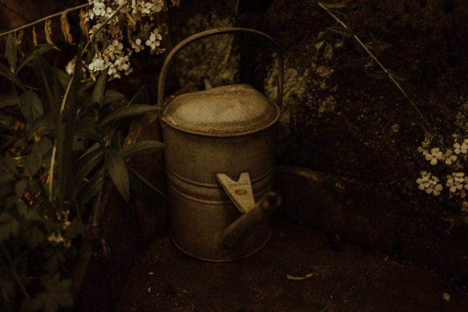 An image of a watering Can at Crook Hall by Belle Art Photography
