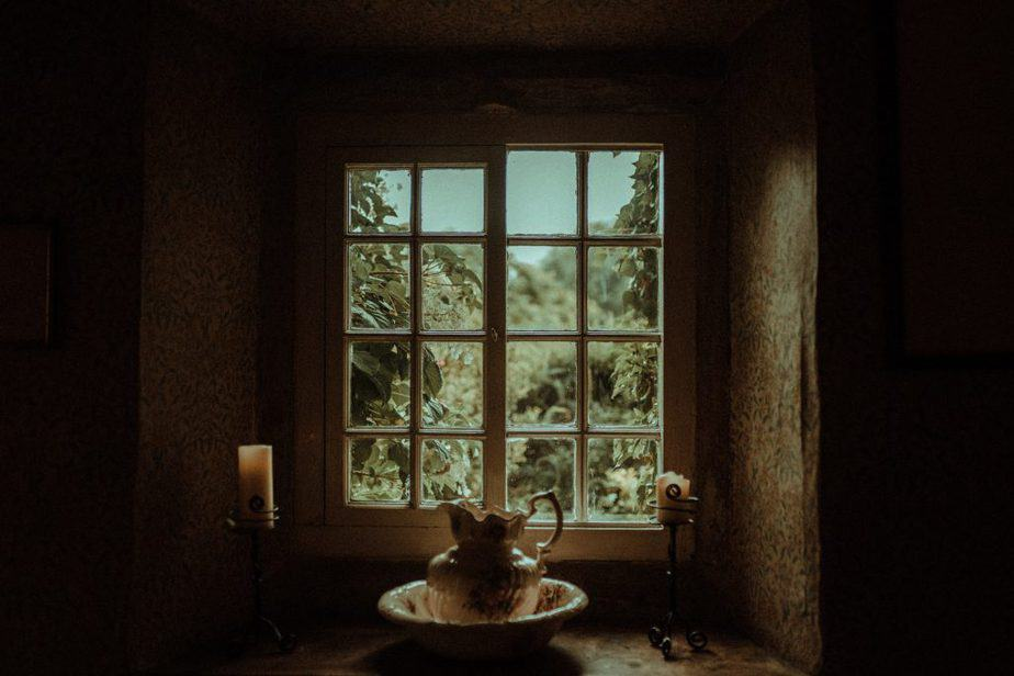 An Image of the window at Crook Hall by Belle Art Photography