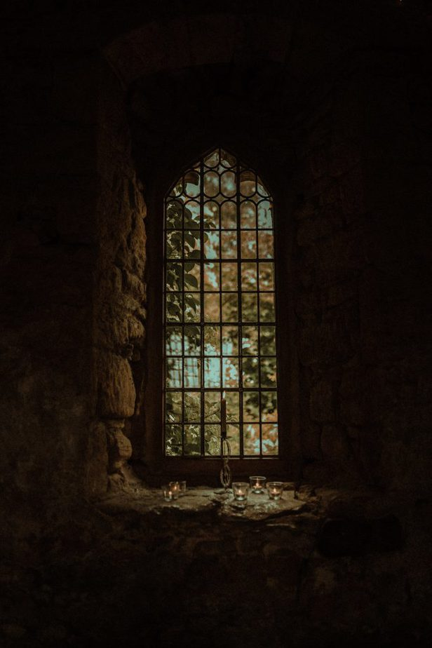 An Image of a window at Crook Hall and Gardens