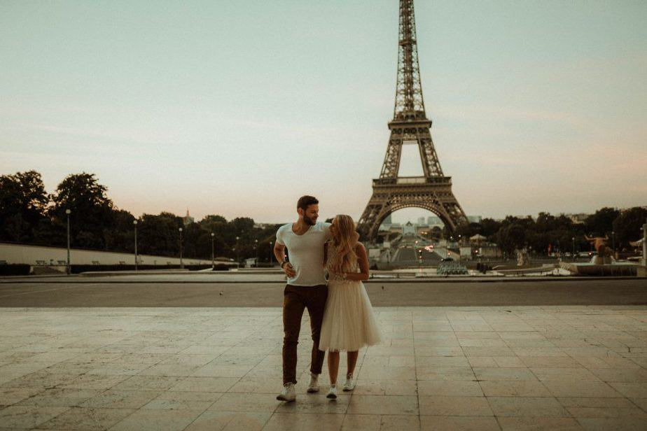 Paris Engagement Shoot by Belle Art Photography