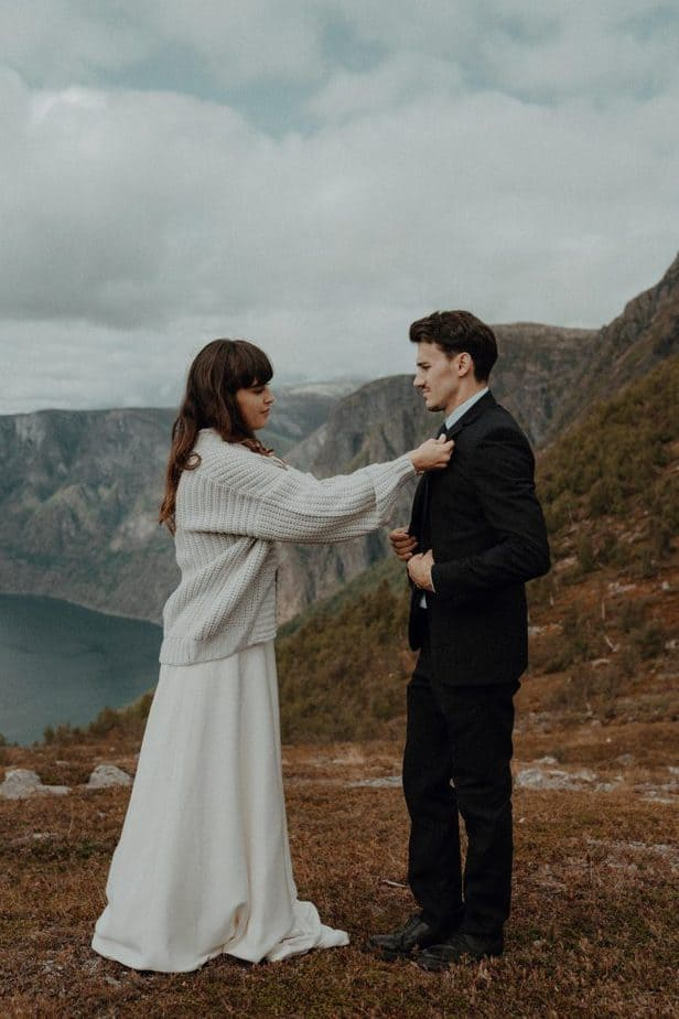 Norway Elopement by Belle Art Photography a Destination Wedding Photographer