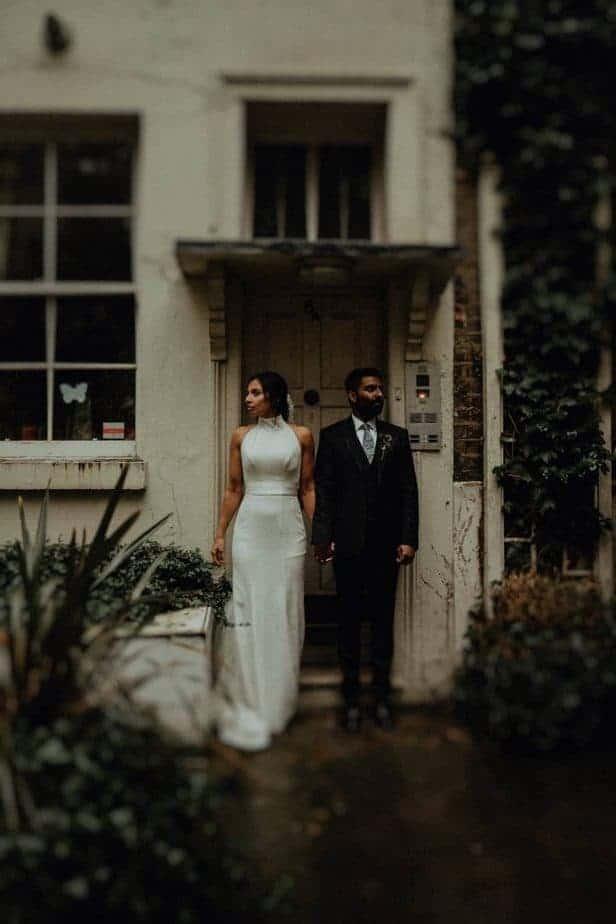 Vera Wang Wedding Dress. London Wedding Photographer, Belle Art Photography