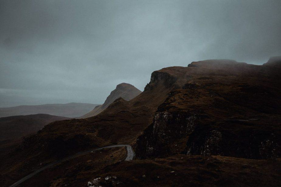 A Moody Quiraing Elopement, Isle of Skye. The Quiraing by Belle Art Photography.