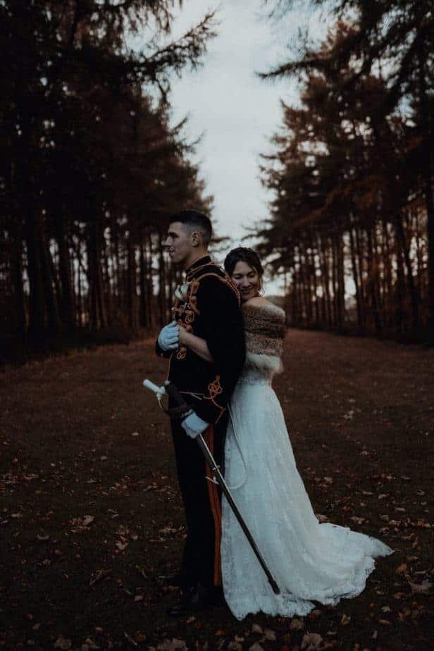 Northumberland Wedding by Scotland and Destination Wedding Photographer
