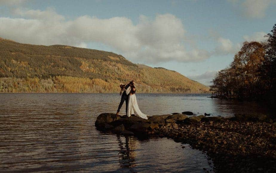 Loch Tay Elopement
