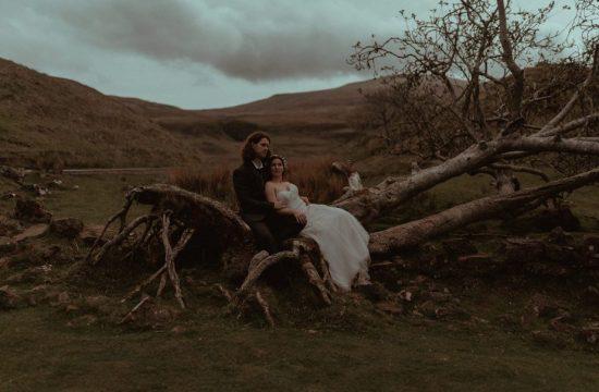 Fairy Glen Elopement Photographer. Elopement in Fairy Glen, Isle of Skye.