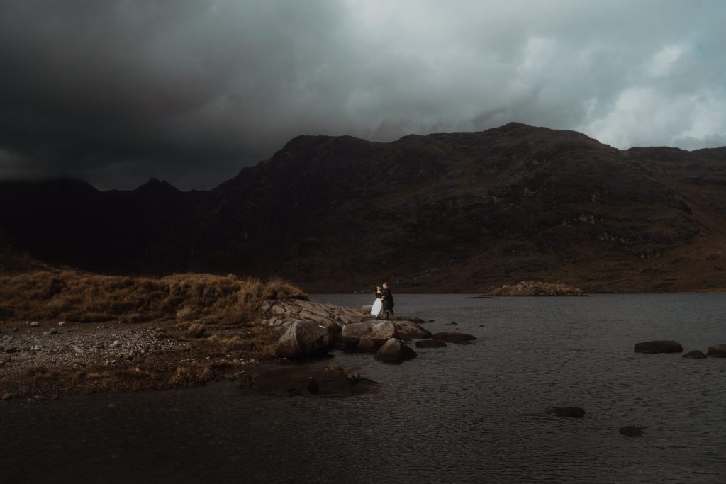 Loch Coruisk Elopement Ceremony on Isle of Skye