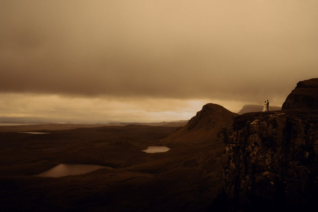 Quiraing elopement, Isle of Skye.