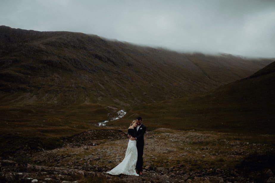 Scotland engagement couple photos