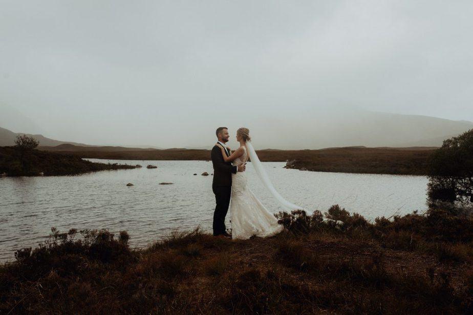 couple photos in Glencoe Scotland