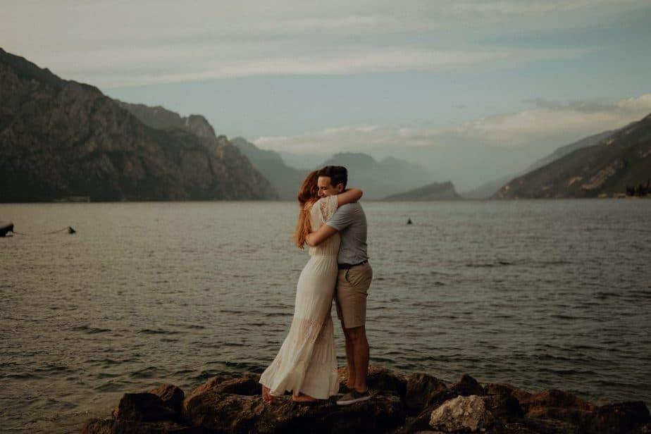 Lake Garda Engagement Couple Session
