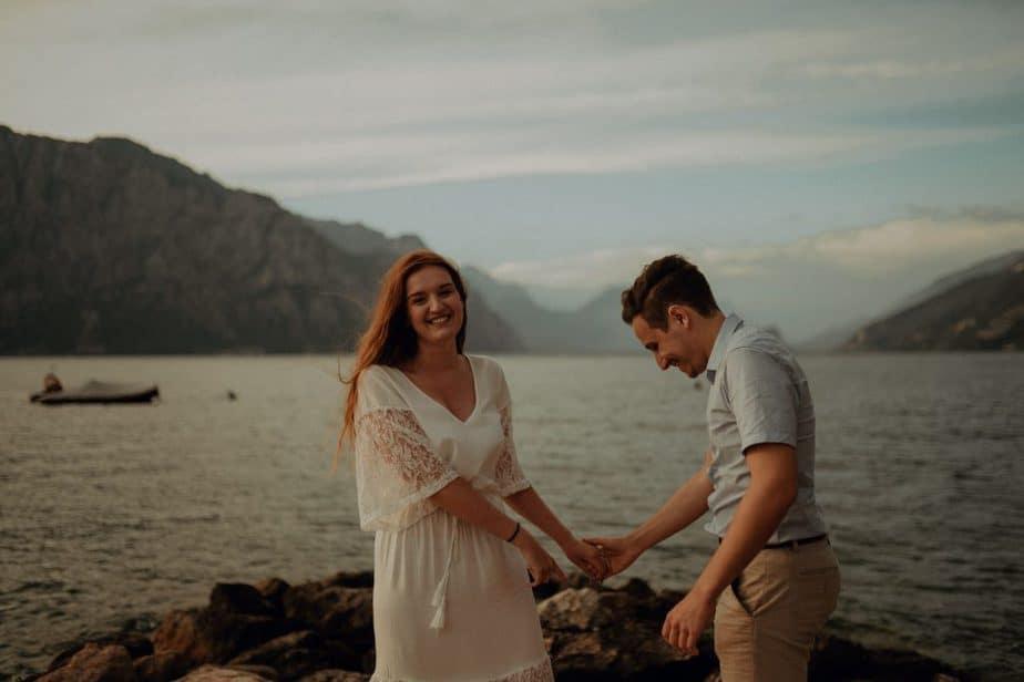 Couple Photos in Lake Garda, Italy by Destination Couples Photographer, Belle Art Photography