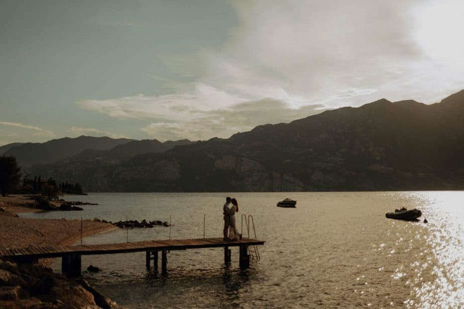 engagement couples Session in Lake Garda, Italy