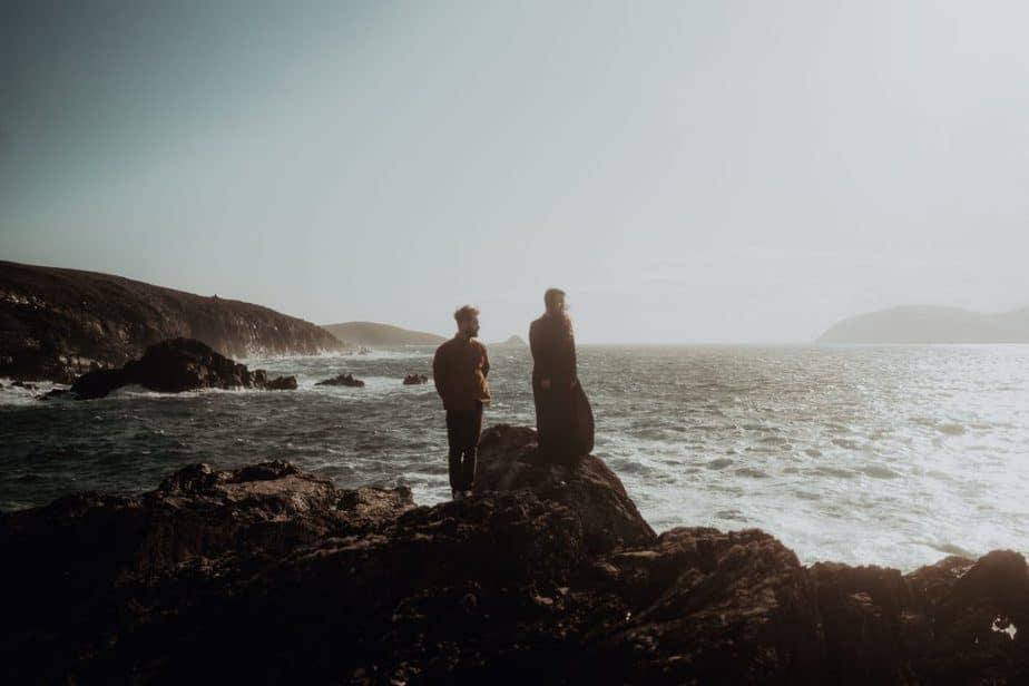 West coast of Ireland Couples Session