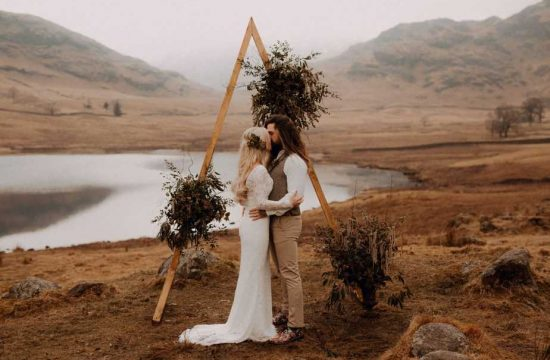 Wedding Ceremony at Blea Tarn, Lake District