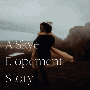Isle of Skye Elopement Photography Workshop
