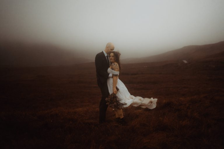 Quiraing Engagement Photos by Belle Art Photography