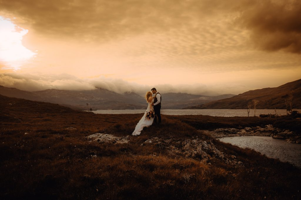 Assynt Elopement, Scottish Highlands.
