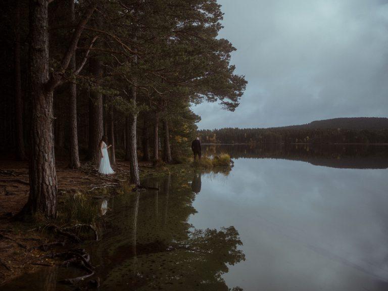 Cairngorms Elopement - Loch Garten