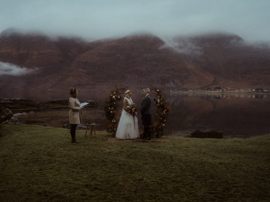 Elopement Ceremony at The Torridon