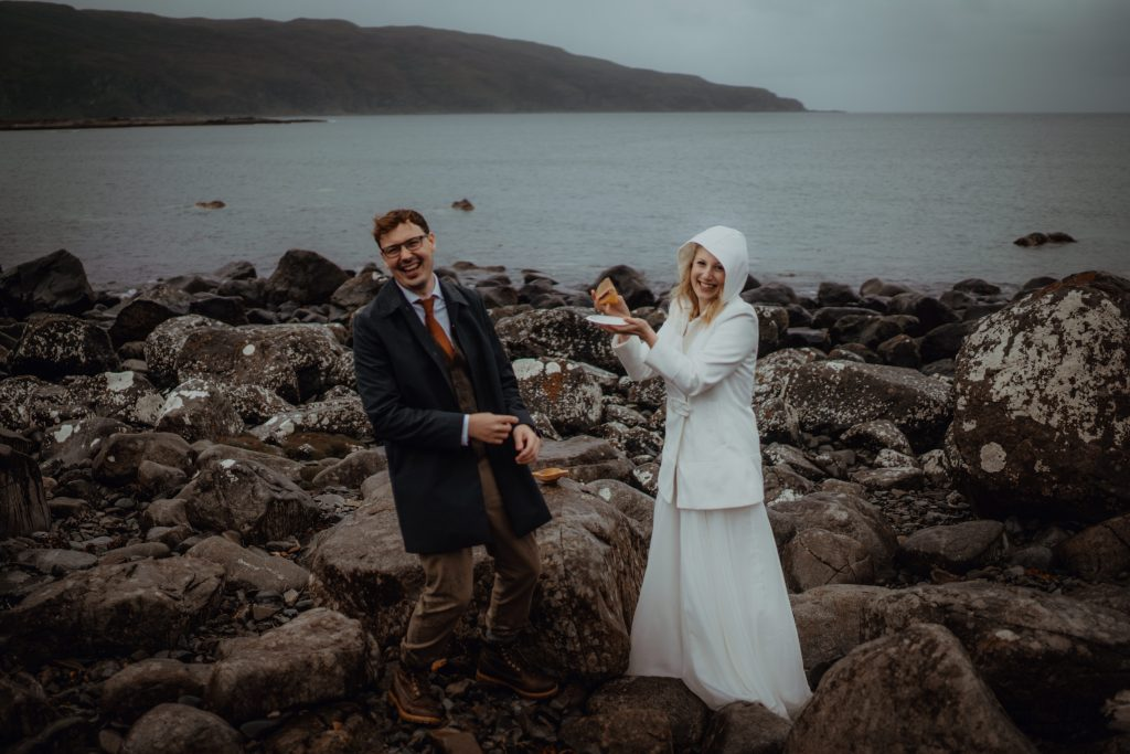 Calgary Bay - Scotland Elopement Locations